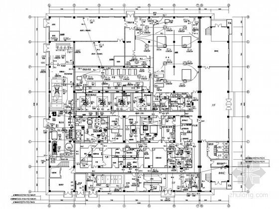 [江西]大型医药综合车间电气施工图纸(含自控设计)