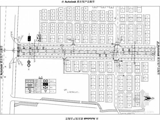 市政道路交通安全设施图纸