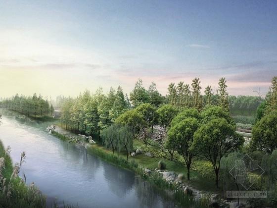 [杭州]生活品质之城景观规划设计方案