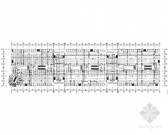 喷水广场给排水资料下载-[山东]大型商贸广场给排水全套图纸(会展、卖场)