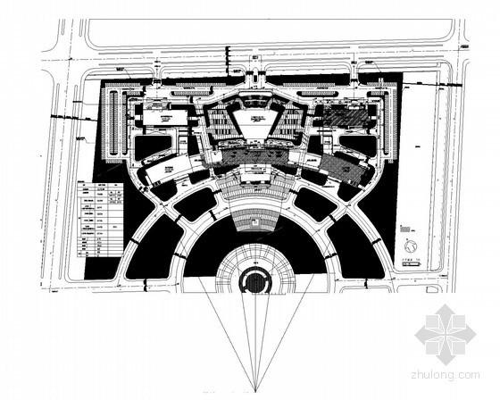 [江苏]某市行政综合服务中心给排水施工图
