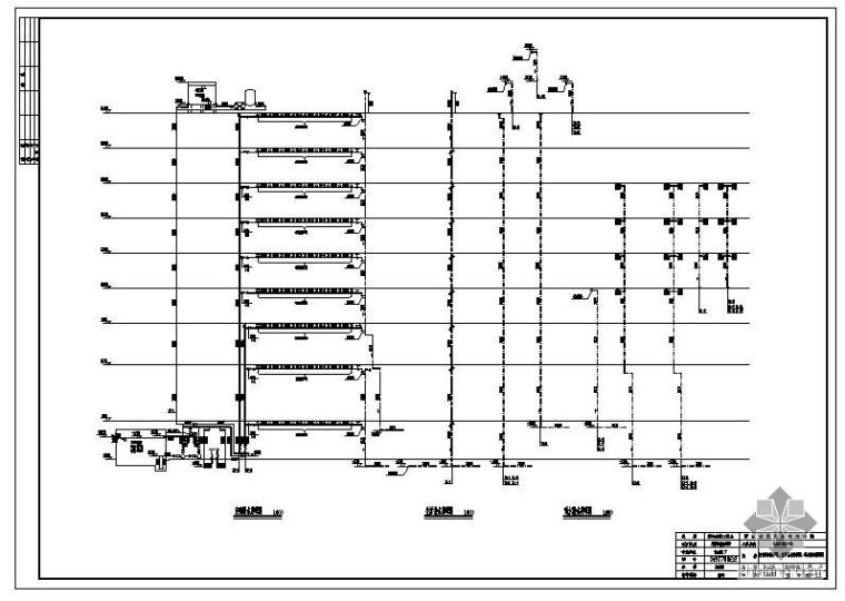 [学士]浙江某大学城建系某综合楼给排水毕业设计