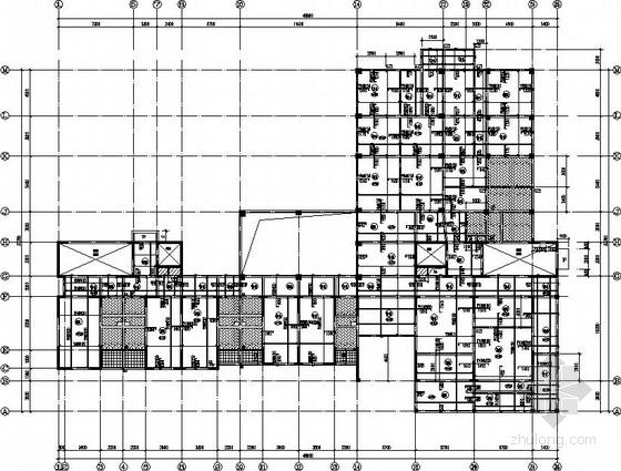 15层老年公寓框剪结构施工图