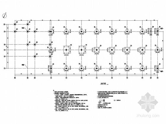 [湖北]地上四层混凝土框架结构办公楼楼结构施工图