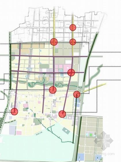 [安阳]某县城多条道路绿化景观设计方案