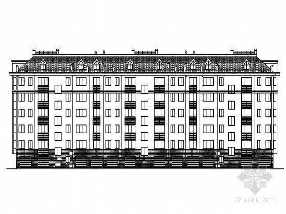 [潍坊]某五层现代简约住宅楼建筑施工图