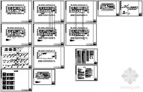 vrv办公楼空调设计资料下载-江苏某气象局办公楼VRV空调设计