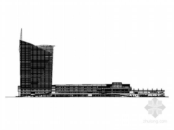 [上海]长途汽车站施工图(含效果图)