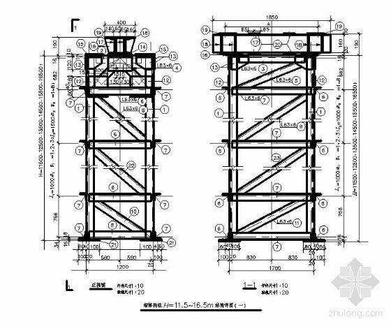 [图集]厂房常用节点设计CAD图集