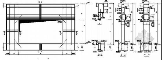 FMDB门框墙配筋图