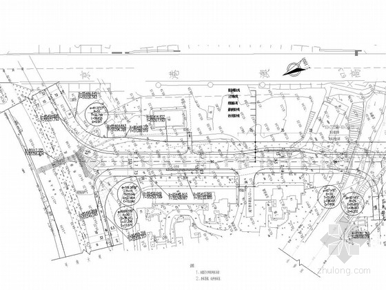 [湖南]30米宽市政道路工程施工图60张(附衡重式挡墙计算书)