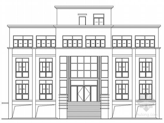 [江苏]某三层办公及单层厂房建筑施工图