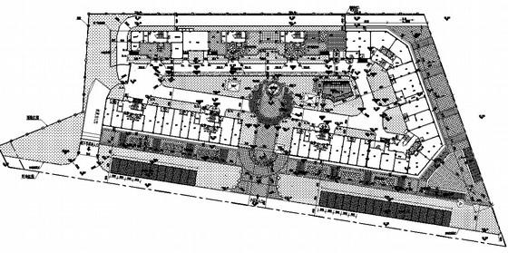 [晋江]廉租住房小区景观设计全套施工图(一期)