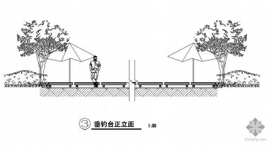 滨水活动空间设计施工图(一)