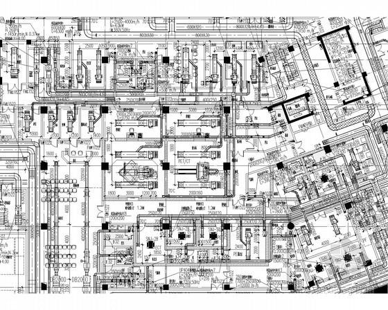[浙江]高层医院建空调通风及防排烟系统设计施工图(全直流新风系统 风冷热泵)