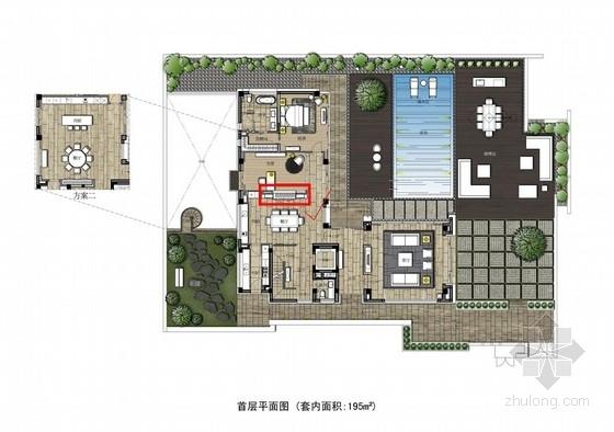 [苏州]奢华现代风格创意样板间深化设计方案(含效果图)