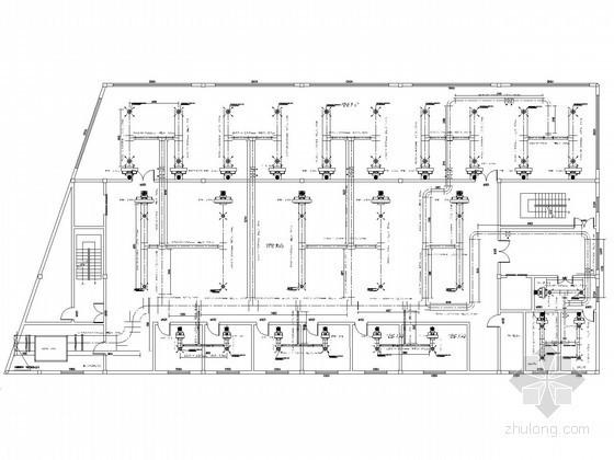 [河北]空调通风系统初步设计图纸(课程设计)