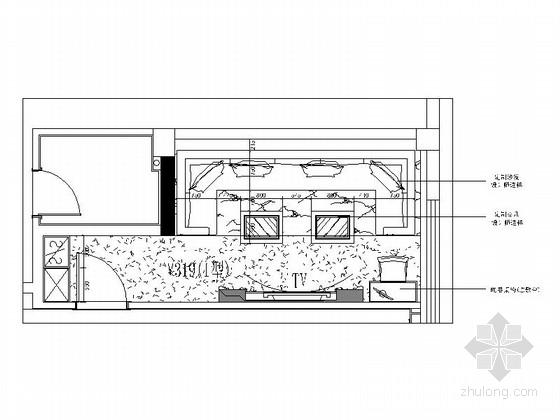 [福建]欧式豪华音乐会所包厢设计施工图