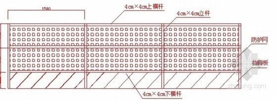基坑临边防护安全技术交底
