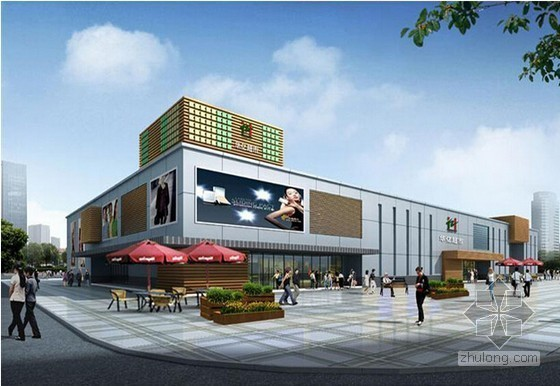 [南京]超市水电安装工程预算书(附图纸)