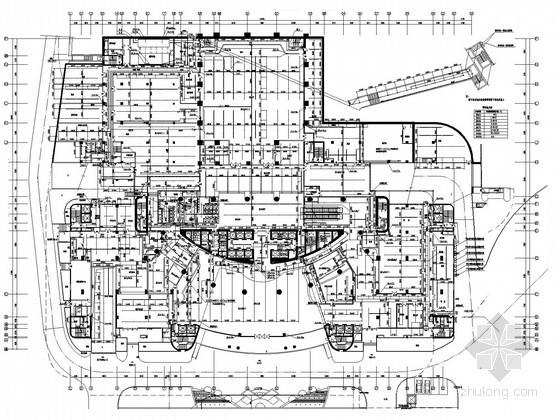 [广东]170米五星级酒店建筑给排水全套图纸(41层 直饮水 气体灭火)