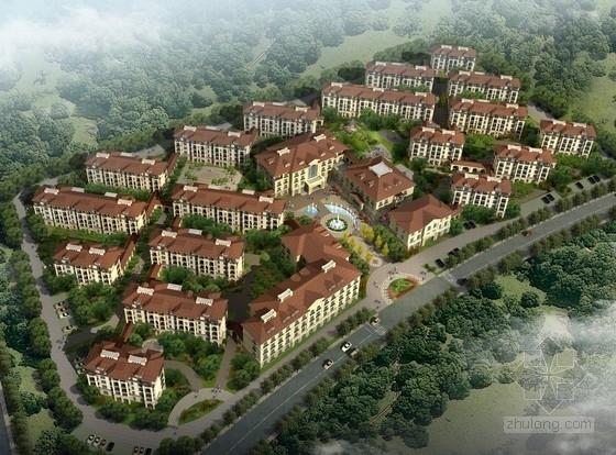 [浙江]简欧风格住宅区规划及单体建筑设计方案文本(知名设计院)