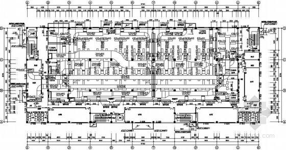 [四川]电子科研楼空调通风设计施工图(含净化空调系统)