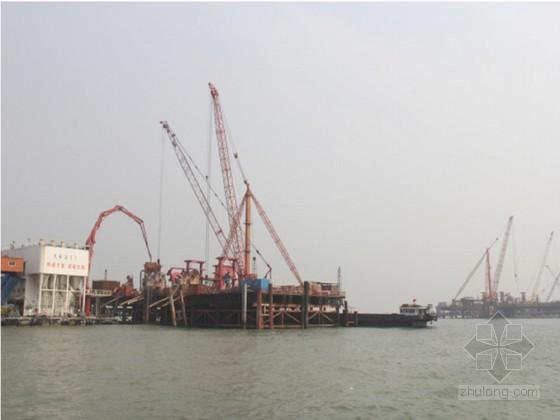 [广东]跨海大桥双壁钢吊箱围堰承台施工作业指导书32页