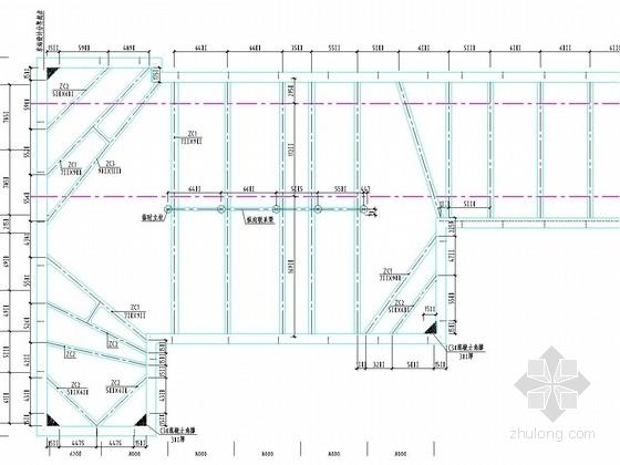 软土地区深基坑地下连续墙加三层内支撑支护施工图