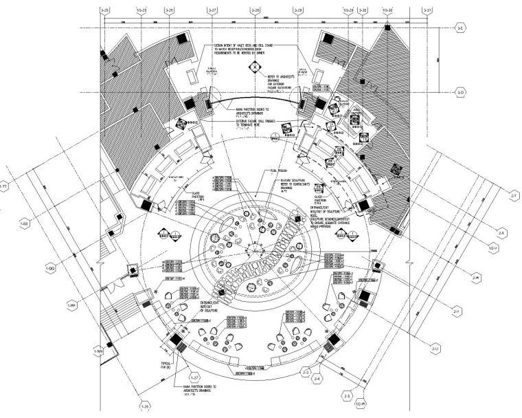 [海南]BBG-三亚美高梅大酒店公共区域施工图丨设计方案(附效果图)