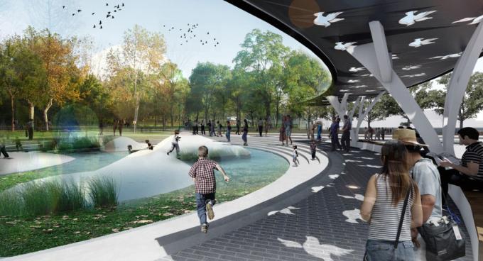 [安徽]绿色休闲全民运动体育公园景观设计方案(2017最新)