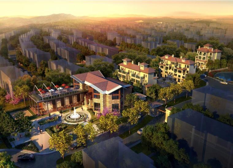 [湖北]武汉世茂龙湾规划与建筑设计方案(欧陆风格)
