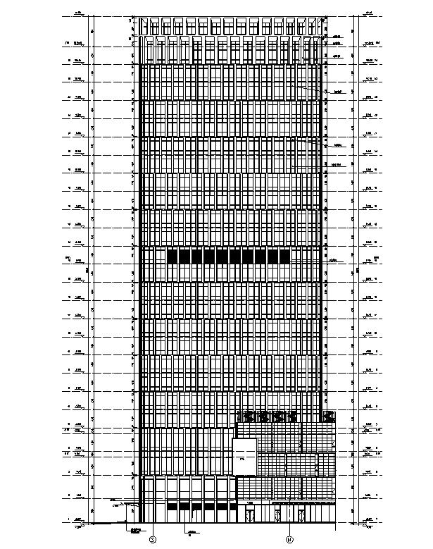 [上海]国际知名设计院办公楼最终审核图纸(16年最新)_4