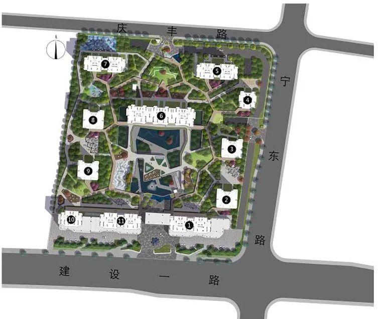 居住区|杭州示范区景观设计项目盘点_23