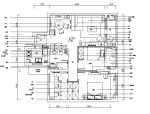 [浙江]田园风三居室住宅设计施工图(附效果图)