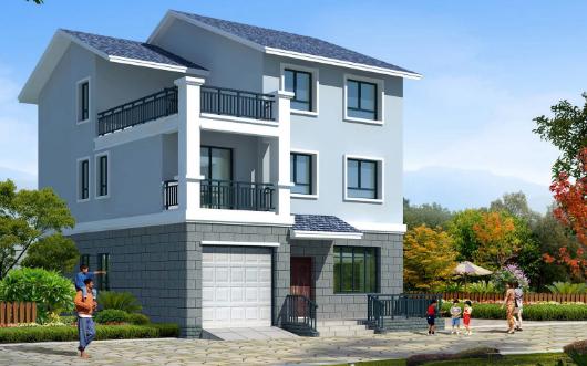 V型住宅平面资料下载-三层住宅楼电气施工图纸