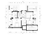 星海湾家装设计完整施工图及高清效果图