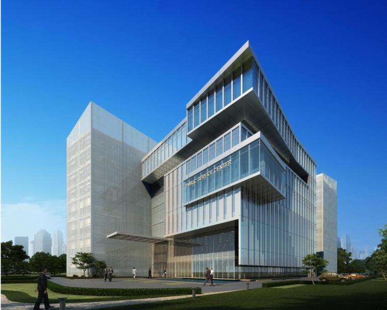 [江西]吉安市四大中心建筑设计方案文本(47页)