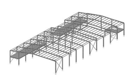 带夹层门式刚架结构设计分析论文