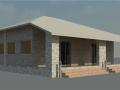 BIM模型-revit模型-独栋单层小别墅模型