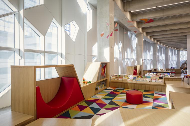 加拿大卡尔加里中央图书馆-10