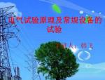 电气试验原理及常规设备试验