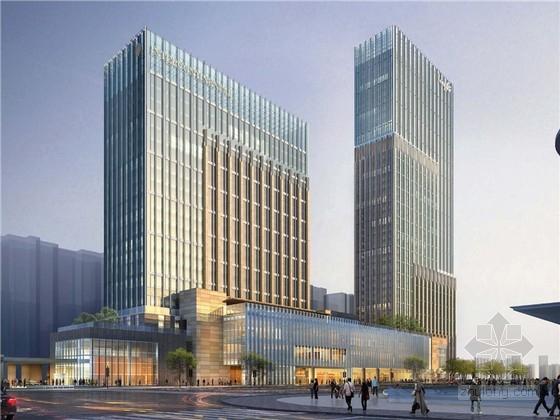 [杭州]知名地产超高层办公楼及酒店项目建筑方案设计文本