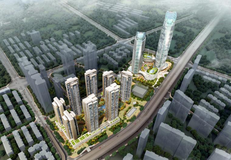 [四川]成都成华区城市综合体设计方案文本(PDF)