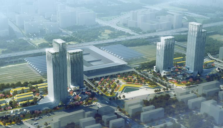 [安徽]生态节能超高层商业办公城市综合体设计方案文本(PDF)