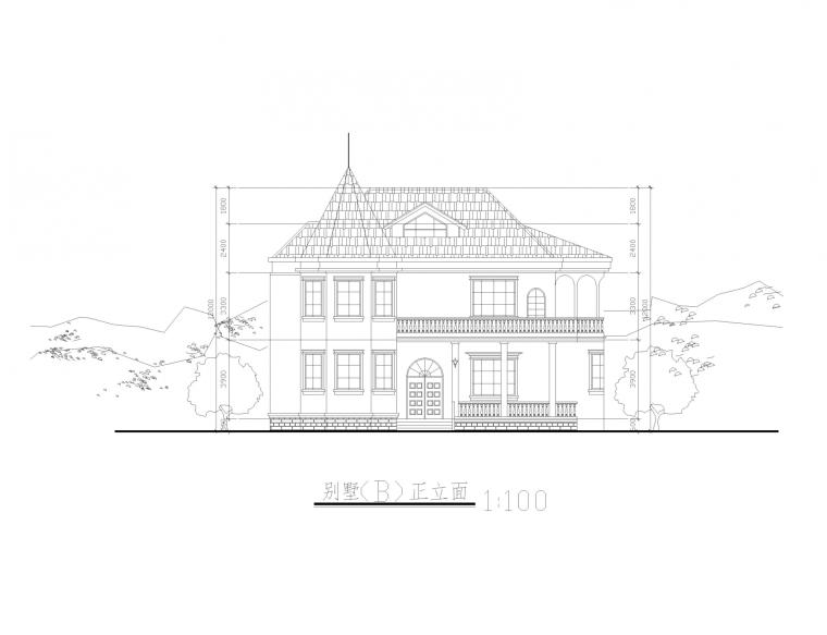 新农村建设全套建筑图_12