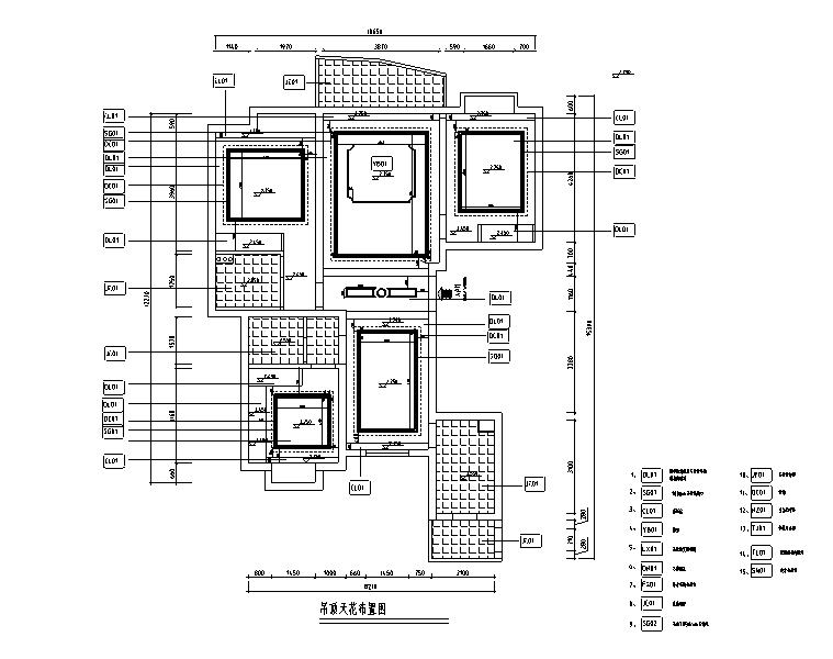 欧式风格三居室住宅设计施工图(附效果图+模型)