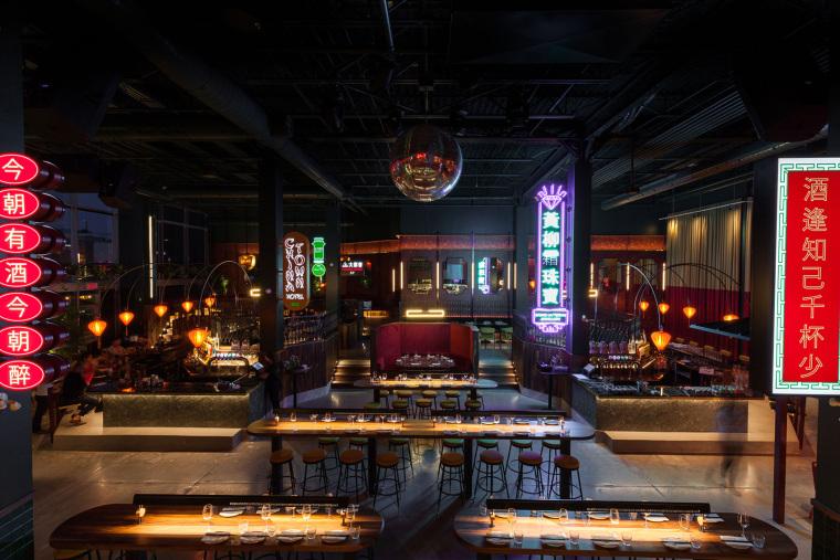 加拿大MissWong中餐厅-002-miss-wong-restaurant-by-menard-dworkind-architecture-design