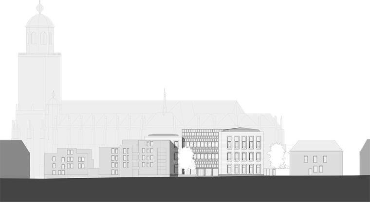 全新代芬特尔市综合体建筑立面图 (21)