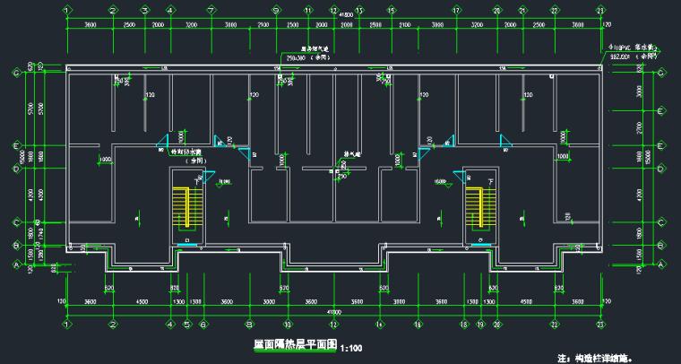 6层框架结构住宅楼建筑结构全套图_9